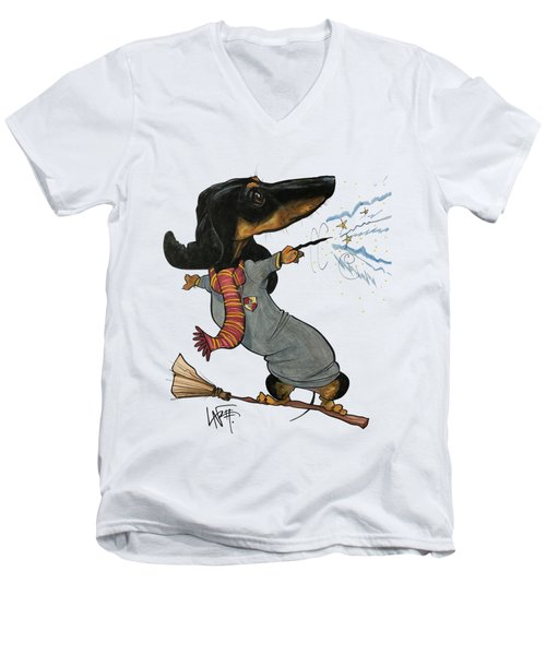 Kusnierczak 3551 Men's V-Neck T-Shirt