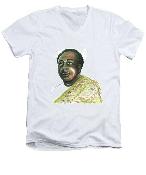 Kwame Nkrumah Men's V-Neck T-Shirt