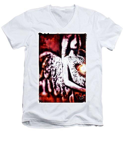 La Passion Men's V-Neck T-Shirt