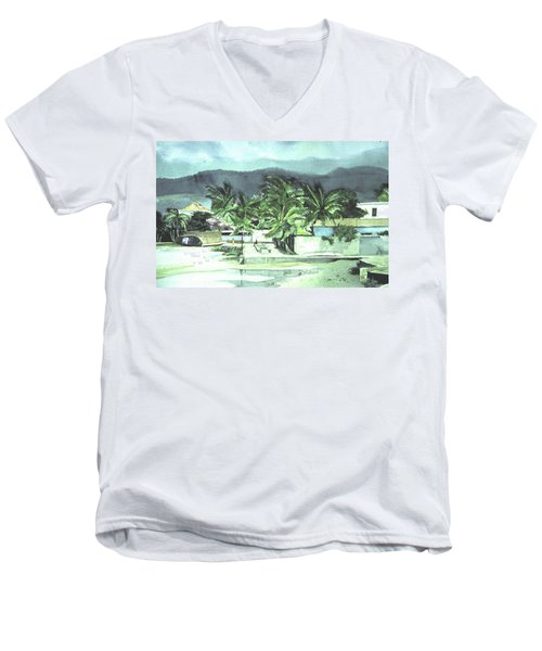 La Vela Men's V-Neck T-Shirt