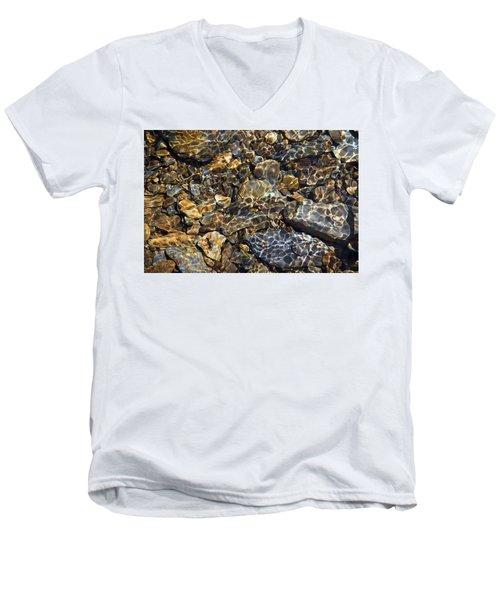 Lacing Of Light Men's V-Neck T-Shirt