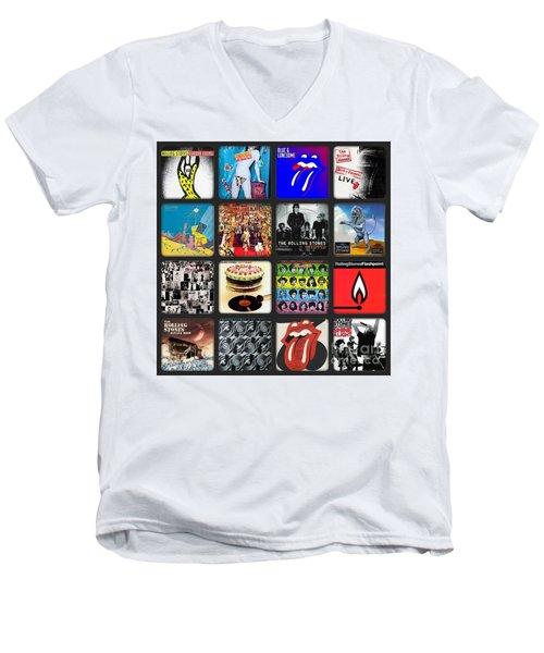 Ladies And Gentlmen The Rolling Stones Men's V-Neck T-Shirt