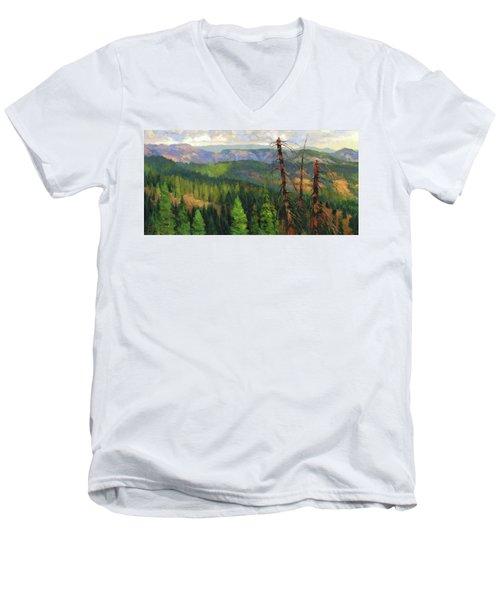 Ladycamp Men's V-Neck T-Shirt