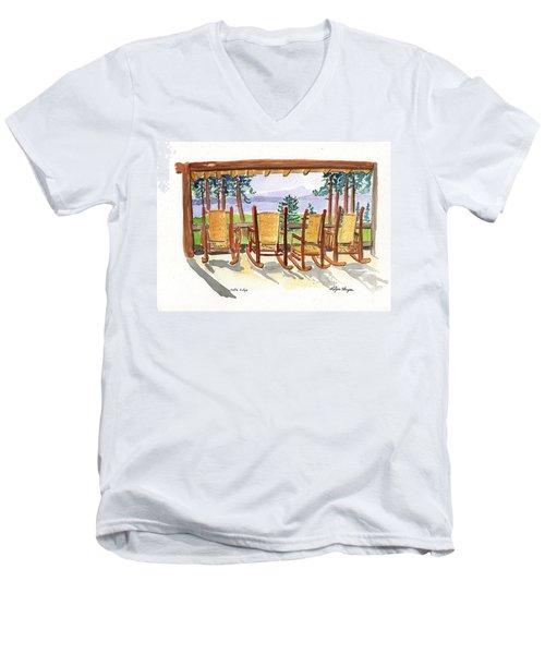 Lake Lodge Men's V-Neck T-Shirt
