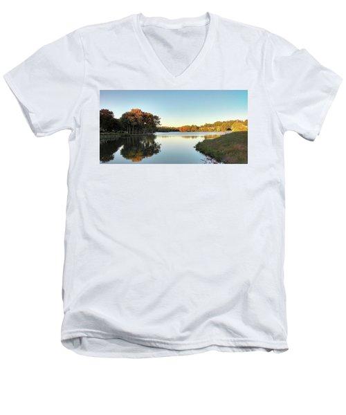Lake Men's V-Neck T-Shirt