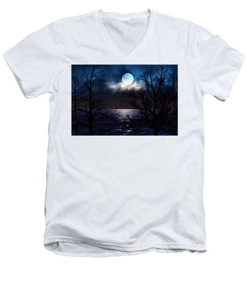 Lake Midnight Men's V-Neck T-Shirt