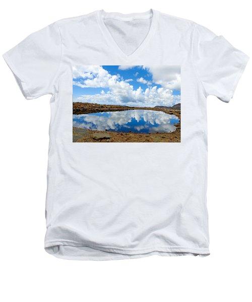Lake Of The Sky Men's V-Neck T-Shirt