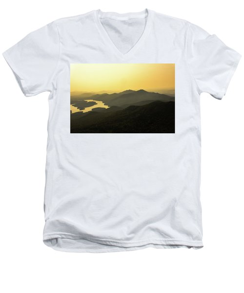 Lake Placid Men's V-Neck T-Shirt
