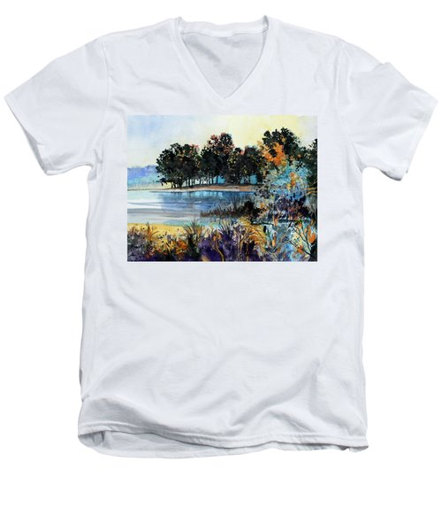 Lake Point Men's V-Neck T-Shirt