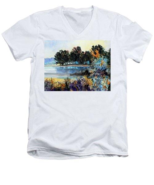 Lake Point Men's V-Neck T-Shirt