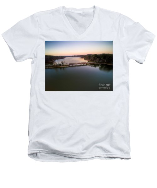 Lake Purdy At Grants Mill Men's V-Neck T-Shirt
