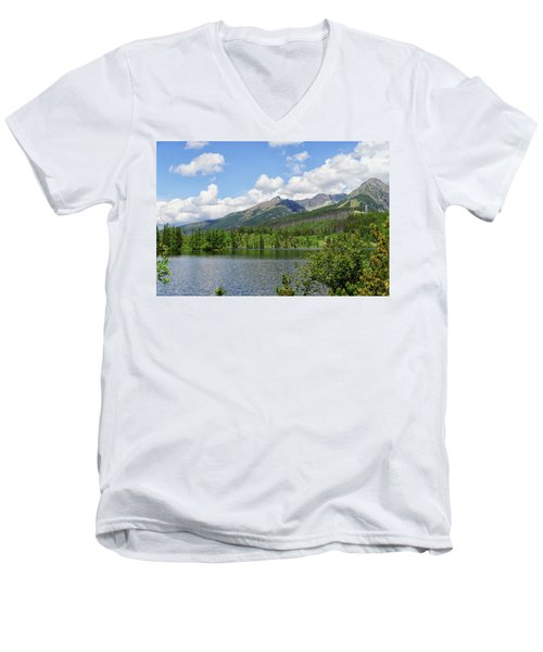 Lake Shtrbske  Men's V-Neck T-Shirt