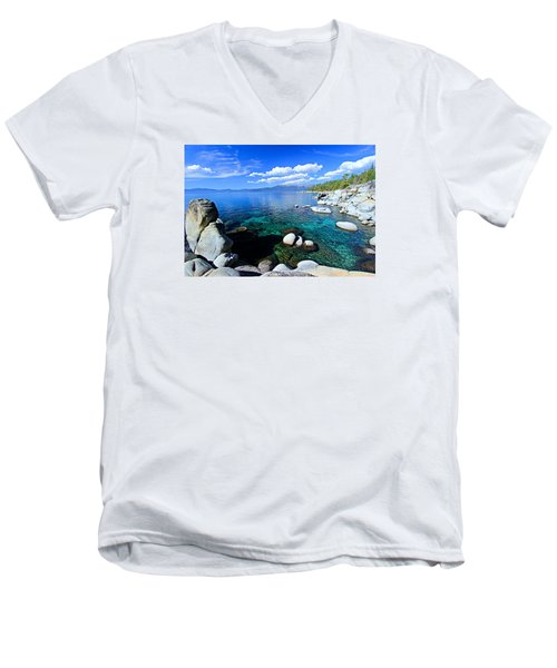 Lake Tahoe Summer Treasure Men's V-Neck T-Shirt