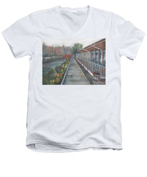 Lambertville Rr #1 Men's V-Neck T-Shirt