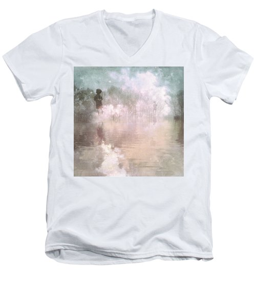 Land Of Ascension Men's V-Neck T-Shirt