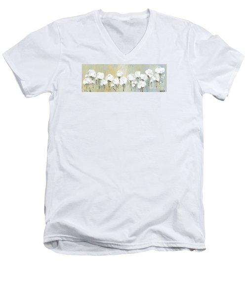 Land Of Cotton Men's V-Neck T-Shirt