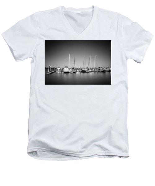 Lands End Marina  Men's V-Neck T-Shirt