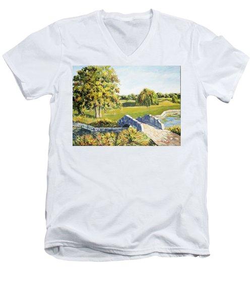 Landscape No. 12 Men's V-Neck T-Shirt