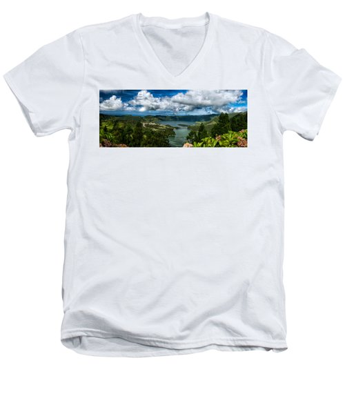 Landscapespanoramas015 Men's V-Neck T-Shirt