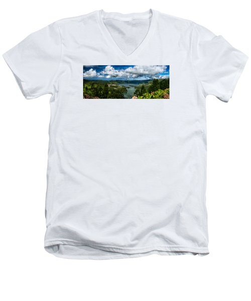 Landscapespanoramas015 Men's V-Neck T-Shirt