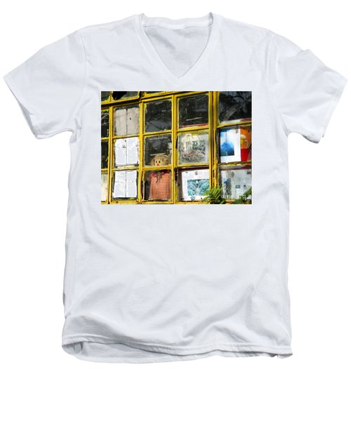 Men's V-Neck T-Shirt featuring the photograph Lantau Island 47 by Randall Weidner