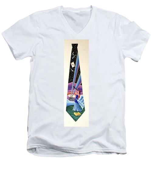 Las Vegas 2 Men's V-Neck T-Shirt