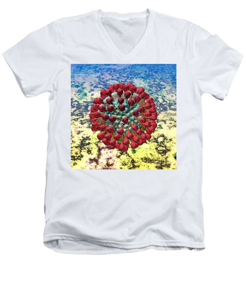 Lassa Virus Men's V-Neck T-Shirt
