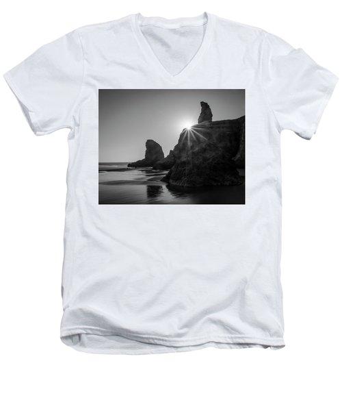 Last Light On The Coast Men's V-Neck T-Shirt