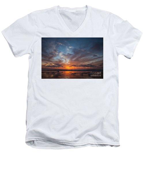 Last Peak Men's V-Neck T-Shirt