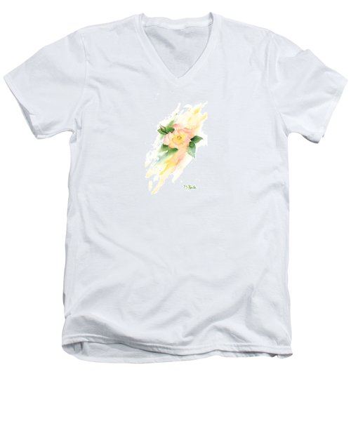 Last Rose Of Summer Men's V-Neck T-Shirt