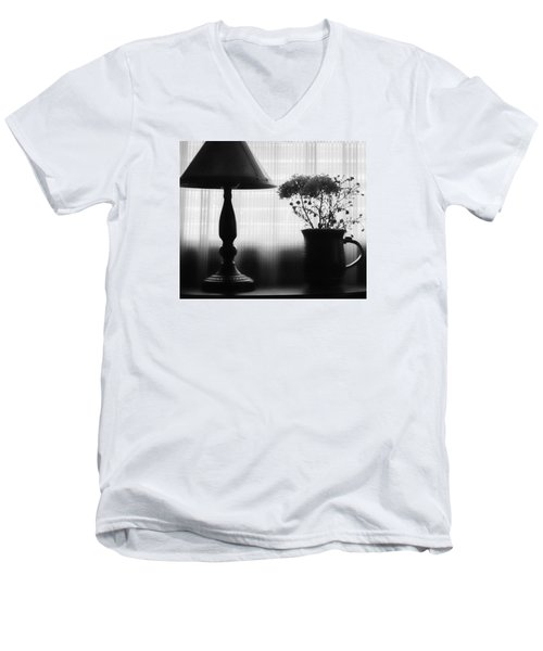 Late Afternoon Men's V-Neck T-Shirt by Bonnie Bruno