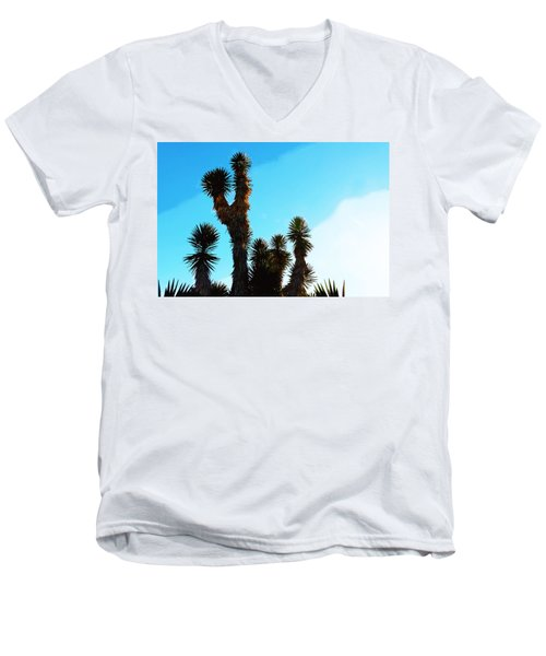 Late Afternoon Cactus Men's V-Neck T-Shirt