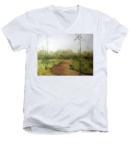 Late Summer Walk Men's V-Neck T-Shirt