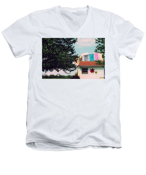 Laundry Day Men's V-Neck T-Shirt