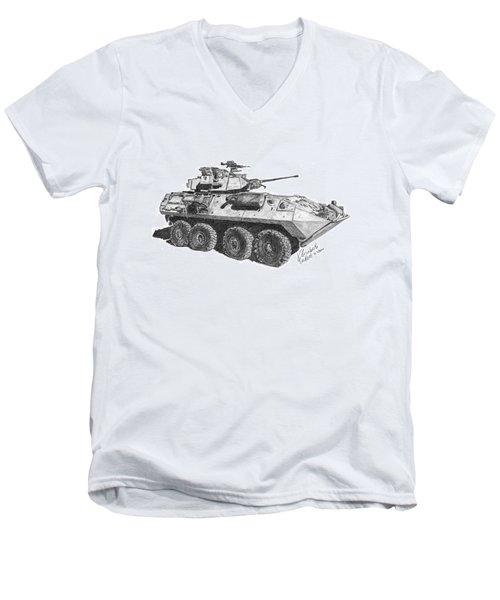 Lav-25 Men's V-Neck T-Shirt
