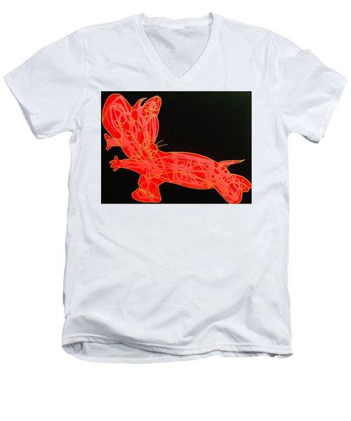 Lava Men's V-Neck T-Shirt