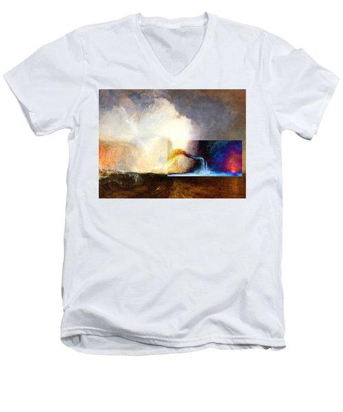 Layered 1 Turner Men's V-Neck T-Shirt