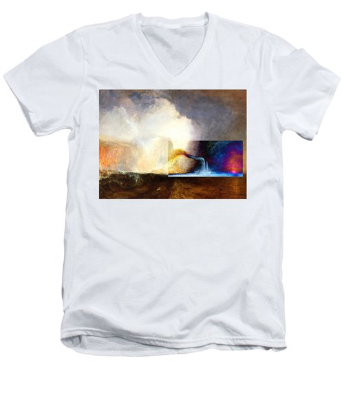 Layered 1 Turner Men's V-Neck T-Shirt by David Bridburg