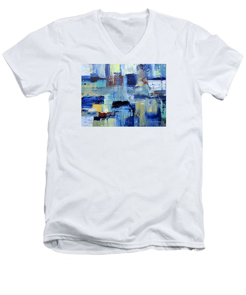 Layers Of Color Men's V-Neck T-Shirt