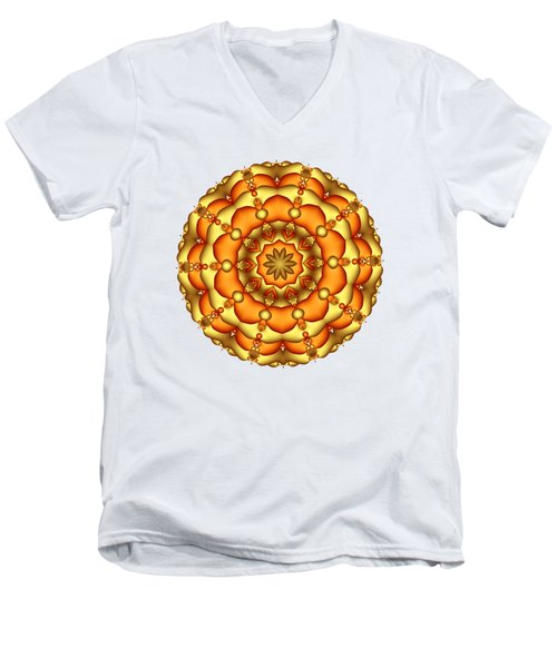 Layers Of Gold Men's V-Neck T-Shirt
