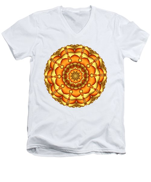 Layers Of Gold Men's V-Neck T-Shirt