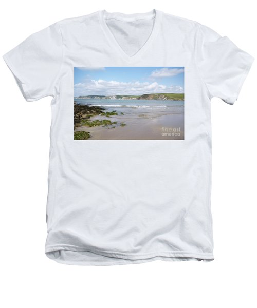 Lazy Devon Days Men's V-Neck T-Shirt