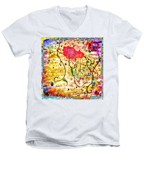 Le Fil Men's V-Neck T-Shirt