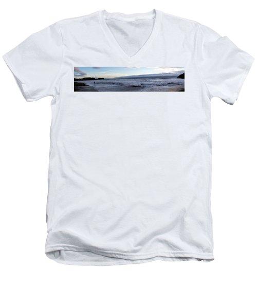 Leading Edge Men's V-Neck T-Shirt