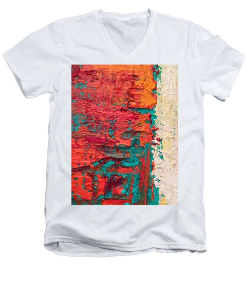 Learning Curve One Men's V-Neck T-Shirt by Heather Roddy