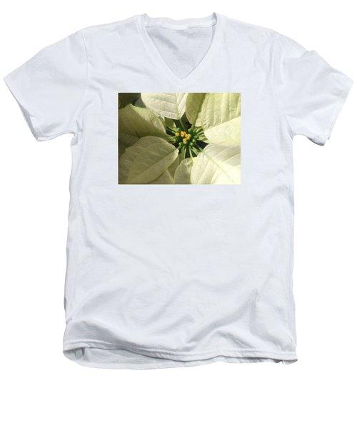 Legend Of The Poinsettia  Men's V-Neck T-Shirt