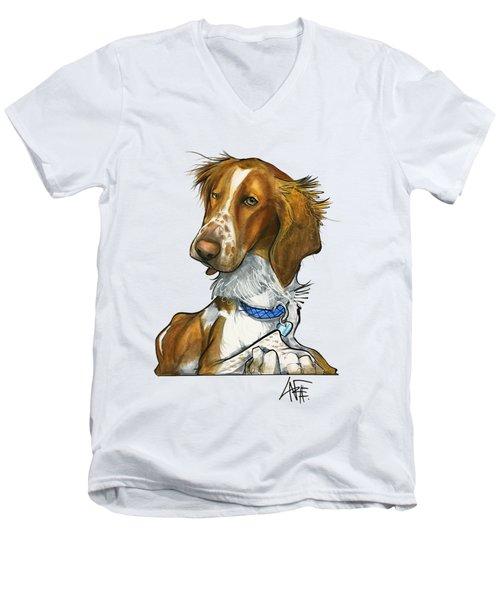 Leger 3018 Men's V-Neck T-Shirt