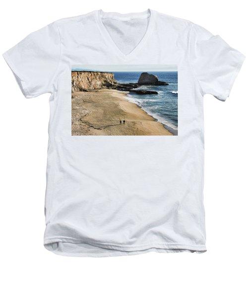 Leisurely Stroll Men's V-Neck T-Shirt