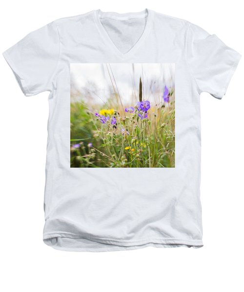 #lensbaby #composerpro #sweet35 #floral Men's V-Neck T-Shirt