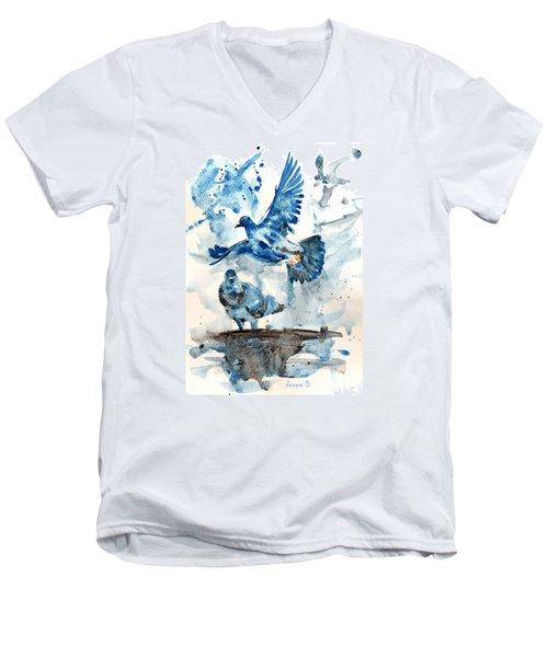 Let Me Free Men's V-Neck T-Shirt